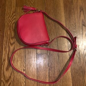 Handbags - Small Red Crossbody Bag